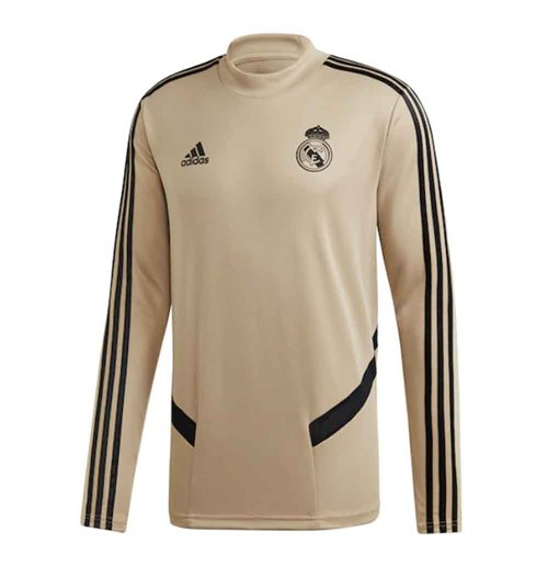 Suéter Esportivo Real Madrid 2019-2020 (Ouro)