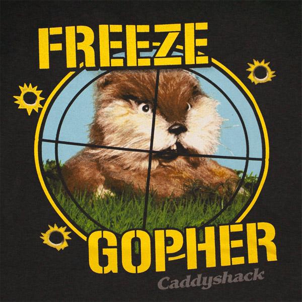Camiseta CADDYSHACK Freeze Gopher Original Compra Online Em Oferta