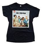 Camiseta One Direction de mulher - Design: Up All Night