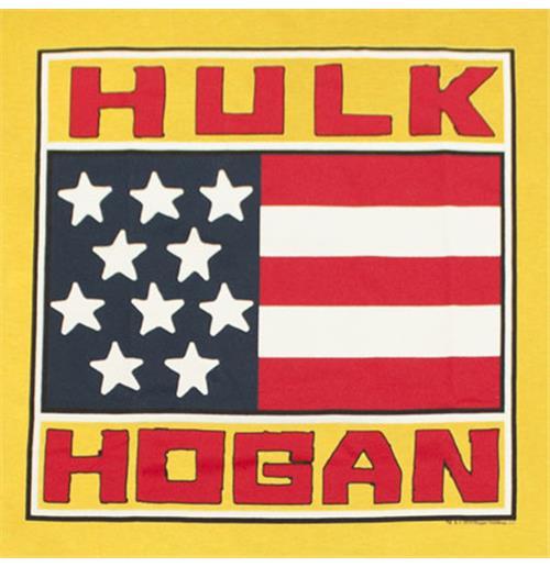 brand new bf93e 9f41d Camiseta HULK HOGAN - American Flag