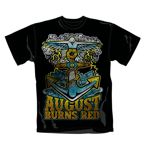 Camiseta August Burns Red Anchor .Produto oficial Emi Music