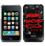 Cover iPhone 3G/3GS Jay Z - Red Logo. Produto oficial Emi Music