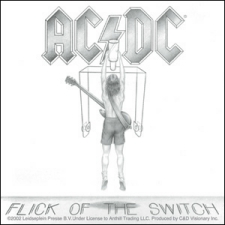 Adesivo AC/DC - Flick Of The Switch