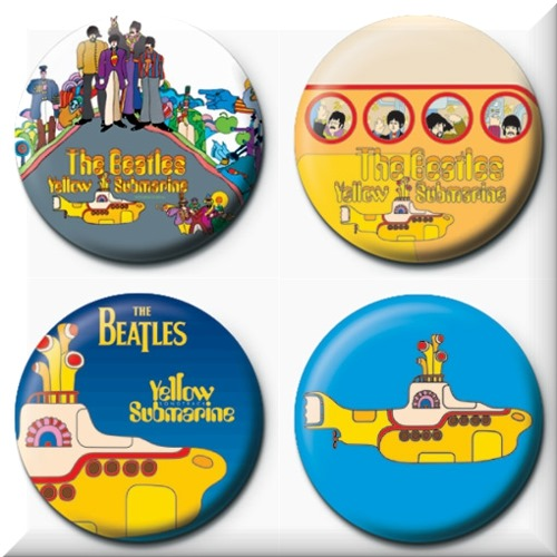 Emblemas The Beatles