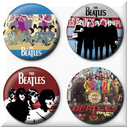 Pack Chapinhas The Beatles