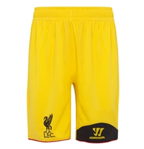 Shorts goleiro Liverpool FC Away 2012-13 de menino
