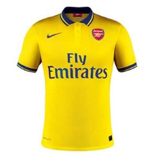 bad120b939f Compra Camiseta Arsenal Away Nike 2013-14 de menino Original