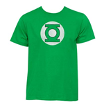 Camiseta Green Lantern Distressed Logo Kelly